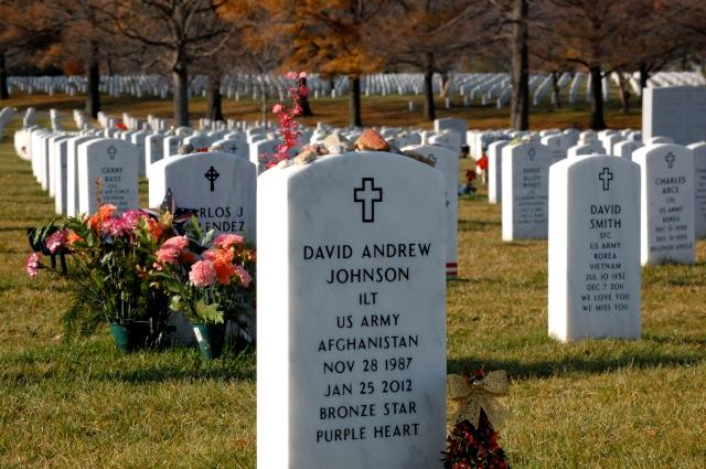 The grave of my friend KIA in Afghanistan. He died a hero.